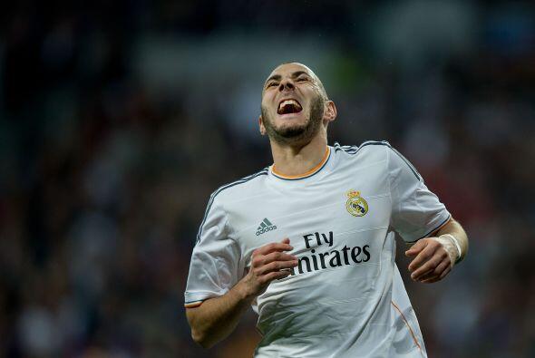 Benzema (6): El más flojo de todo el equipo. El francés no...
