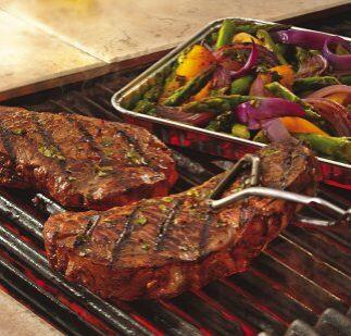 Filete italiano y verduras.  Recibe a tus amigos con una cena sencilla p...