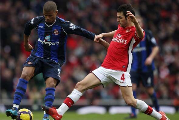 En la vigesimo séptima jornada de la 'Premier League' inglesa, Ar...