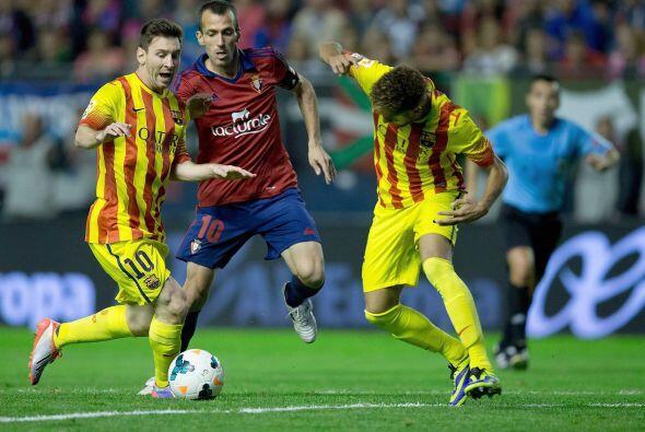Terminó el partido sin goles y el Barcelona vio cortada su rcha perfecta.