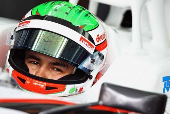 Pérez es el quinto mexicano en participar en la Fórmula 1.