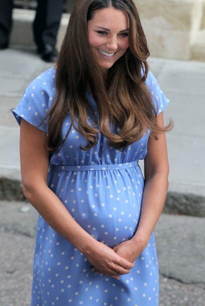 Así es como lucía Kate hace tres meses, el día que nació el príncipe Jor...