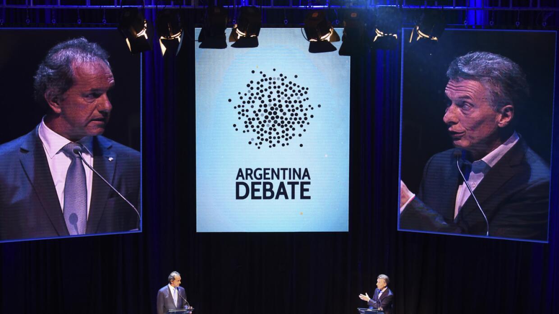 Debate presidencial Argentina