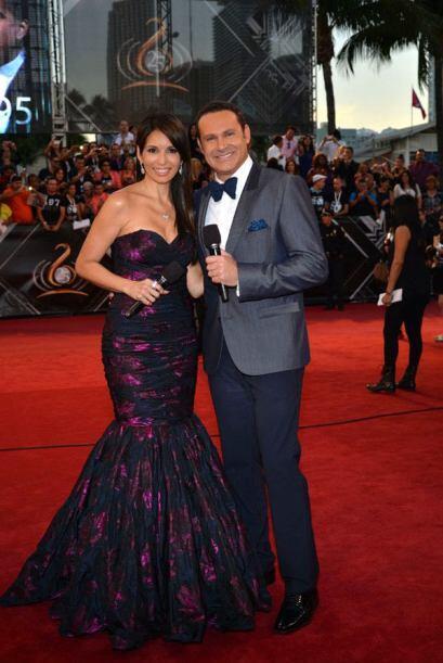 Un dúo perfecto para esta noche, Giselle y Alan.