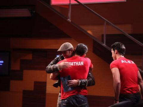 William Levy estuvo presente en la quinta noche de eliminación de...