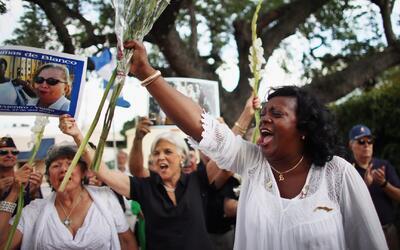 """Berta Soler: """"Cada persona tiene derecho a emigrar al país que quiera cu..."""