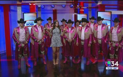 Banda Machos está de visita en Univision 34