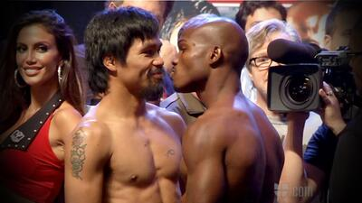 Manny Pacquiao y Timothy Bradley vencieron la báscula y están listos par...