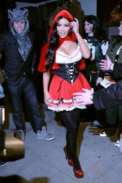 También se disfrazó de 'Caperucita Roja'. Mira aquí lo último en chismes.