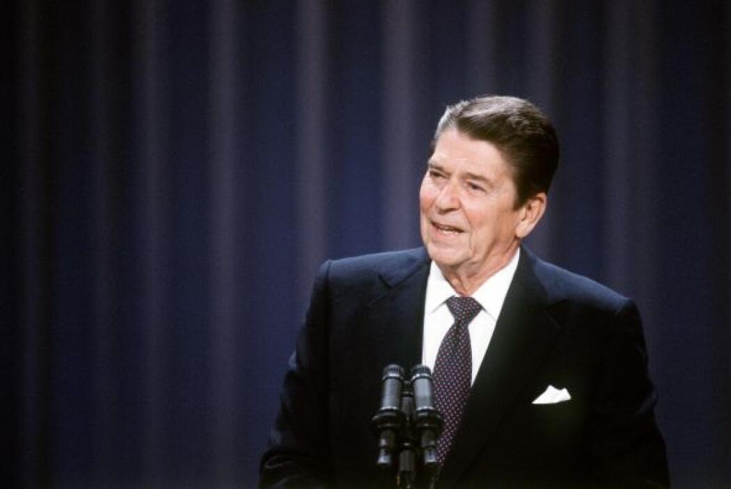 Durante una cena de Estado en Brasil en 1982, el entonces presidente est...