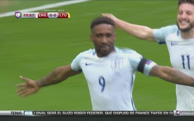Inglaterra derrota a Lituania en Wembley