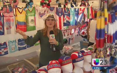 Pequeños negocios aprovechan el carnaval de la calle 8