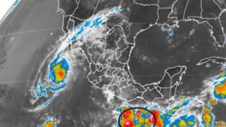 Imagen de satélite del Servicio Meteorológico Nacional.