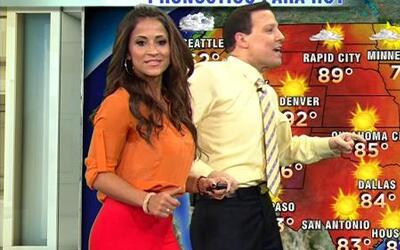 Raúl y Jackie dieron el clima a ritmo de reggaeton