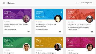 Google Education ahora cuenta con la app Clasroom.