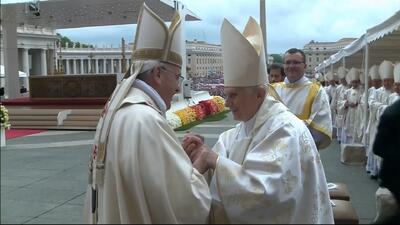 Los 8 momentos memorables en la canonizacion que tienes que ver