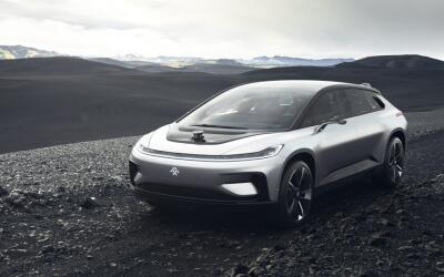 El FF91 es el coche de vanguardia de Faraday Future para desafiar a Tesl...