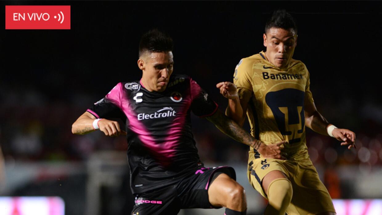 EN VIVO Pumas vs Veracruz APP