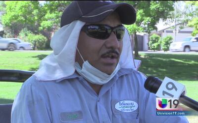 Piden a trabajadores al aire libre evitar los golpes de calor