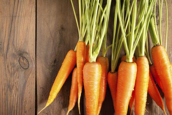 Zanahoria: Es infaltable entre los vegetales recomendados para la vista
