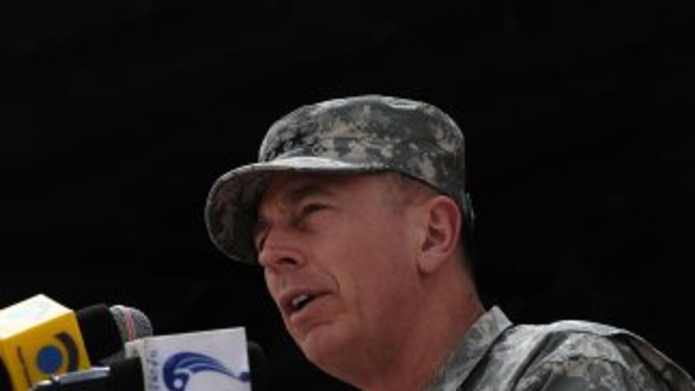El general David Petraeus.
