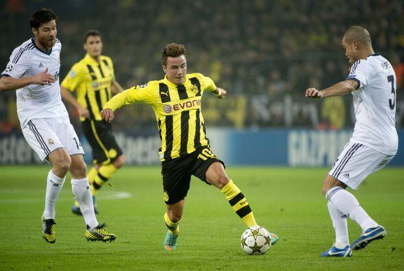 En la segunda parte los dos equipos estaban buscando sacar ventaja.