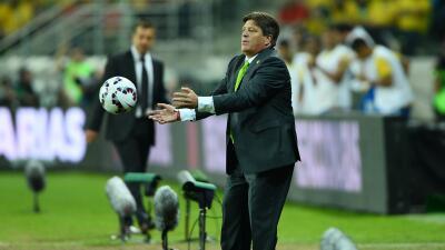 La selección mexicano llegó a Chile para encarar la Copa América