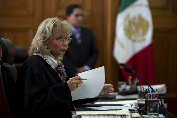 1. Olga Sánchez Cordero. La abogada y Ministra de la Suprema Cort...
