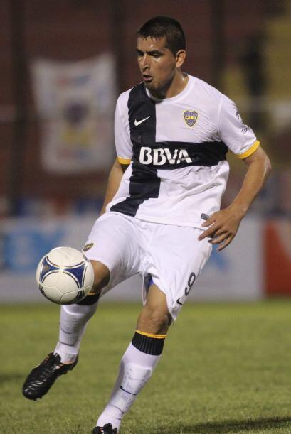 Lucas Viatri, delantero argentino de 26 años que ya ha sido parte...