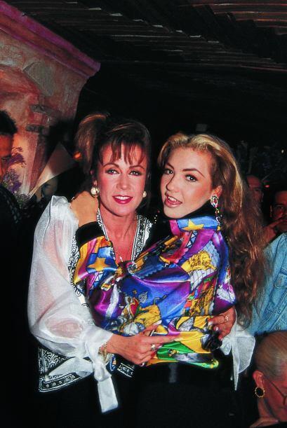 Las dos participaron en exitosas telenovelas.