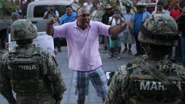 Gobierno exigió levantar los bloqueos de los maestros