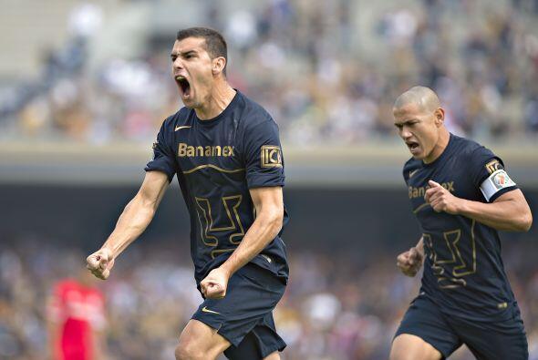 Gerardo Alcoba ha tenido actuaciones inciertas con los Pumas, aunque ha...