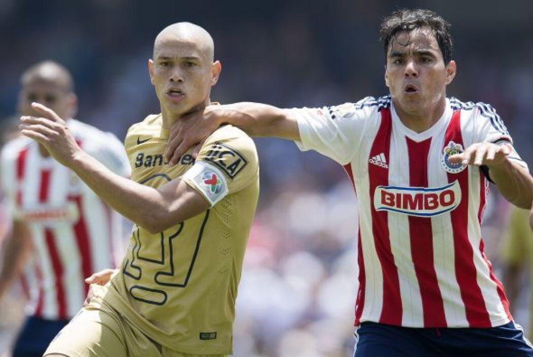 Darío Verón volvió a ser factor para que los Pumas no recibieran muchos...