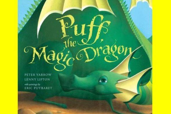 Este libro de la famosa canción Puff the Magic Dragon, echará a volar la...
