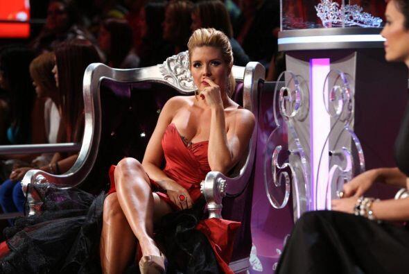 Miren la reacción de la sensual Alicia Machado.