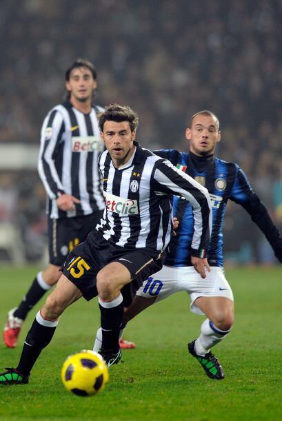 El defensor italiano ya tenía vasta experiencia en el calcio de l...