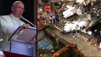 El Papa envió un telegrama de condolencia por el siniestro aéreo de Taiwán