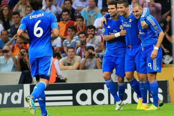 En la Liga de Campeones de la UEFA Cristiano Ronaldo consiguió im...