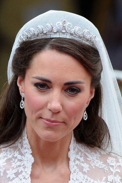 El día de su boda, Kate Middleron sedujo a todos con la tiara Hal...