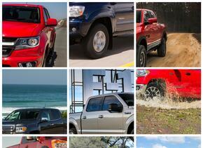 Las 10 pickups más vendidas de 2015