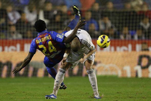 Pero el coraje del Madrid salió avante pese a todos los problemas...