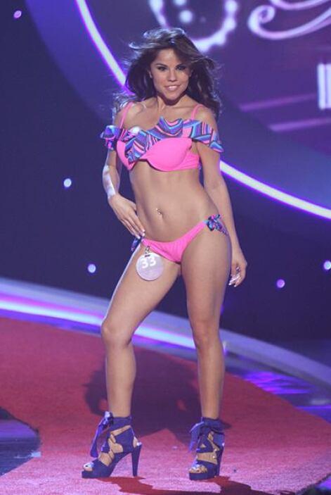 Cynthia Piñade Mexico pasó por la competencia en el 2010.