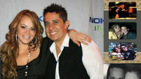 Jenni Rivera y su exmanager Gabriel Vázquez.