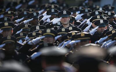 Policía de Nueva York tendrá como prioridad llevar tranquilidad y confia...