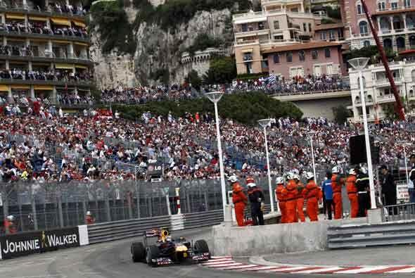 Para Webber, la carrera fue casi un paseo por las calles del Principado...