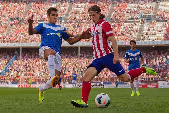 Comenzó la jornada 4 de la Liga Española y el Atlético de Madrid enfrent...