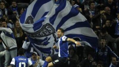 Moutinho dio el único gol del partido a los lusitanos.