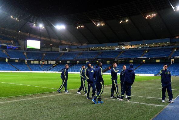 En Manchester, el City vio aplazado su partido contra el Sunderland por...