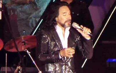 Marco Antonio Solís decidió cantar 'de a gratis'