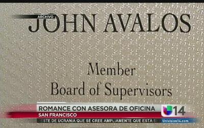 John Avalos, el Supervisor de San Francisco, mantenía una relación con u...
